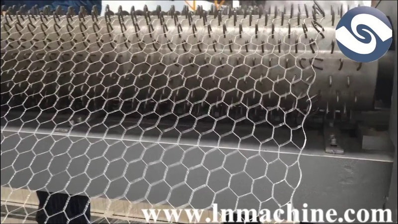High efficiency hexagonal chicken wire mesh machine