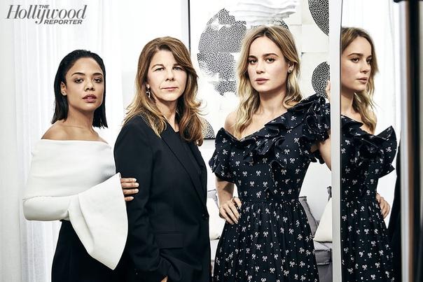 Бри Ларсон, Тесса Томпсон, Стэйси Смит The Hollywood Reporter, Декабрь 2018