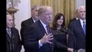 Trump SHOCKED after jewish Americans YELL 4 more Years at President Trump Hanukkah Speech