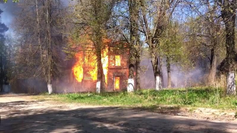 Пожар в Кохме