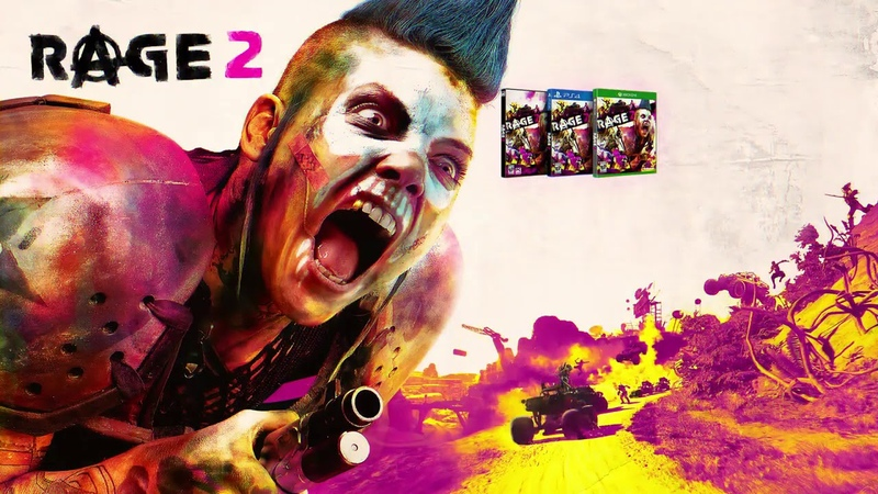 RAGE 2 30 Minutes of Gameplay So Far Post Apocalyptic Game 2019