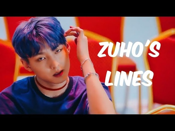 Every sf9 mv but its only zuhos lines