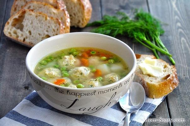 ТОП-5 Рецептов куриных диетических супчиков