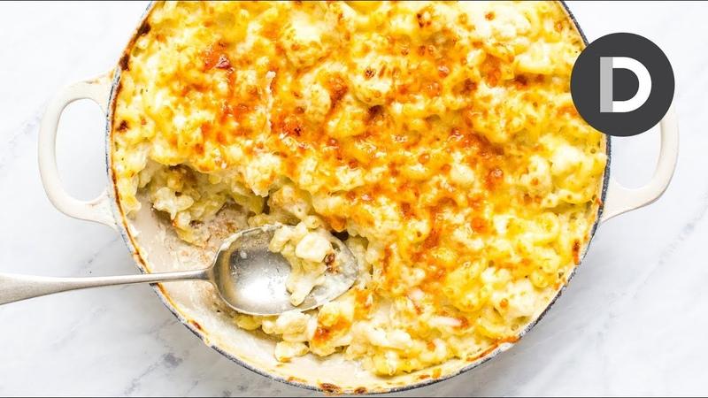 One Pot Cauliflower Mac Cheese