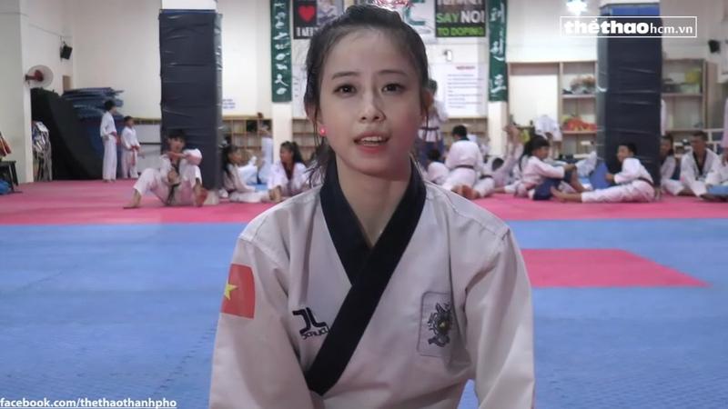 Châu Tuyết Vân, hot girl teakwondo không chỉ là danh xưng Thể Thao HCM