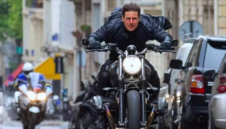 В новом фильме «Миссия Невыполнима: Последствия» засветился мотоцикл BMW R nineT Scrambler (трейлер)