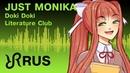 DDLC animatic Just Monika Random Encounters musical RUS song cover