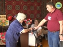 Жительница Кинель Черкасс Нина Дмитриевна Мухатаева которой 99 лет приняла участие в выборах Губернатора Самарской области