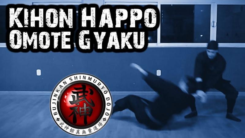 Ninjutsu | Kihon Happō (Hoshu Kihon Go Hō No Kata) - Omote Gyaku (Gyokko Ryû)