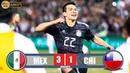 Mexico vs Chile 3-1 - Resumen y Goles | Amistoso Internacional 2019