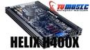 Первый взгляд на автоусилитель HELIX H 400 X. Hi-Fi усилитель за 500$.