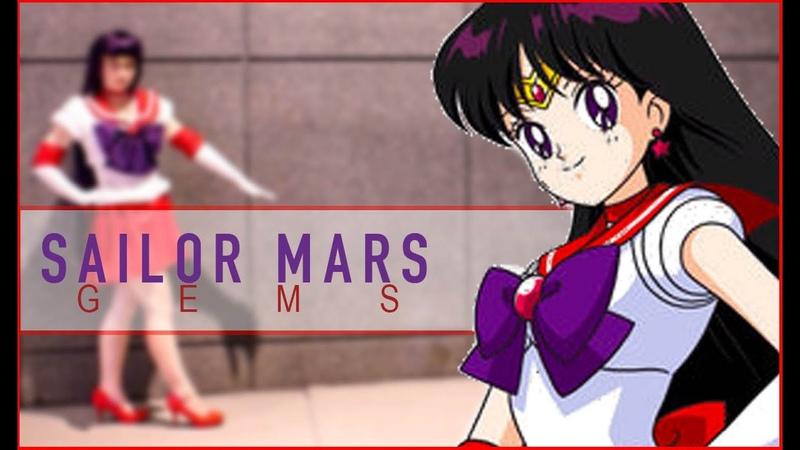 Sailor Mars Cosplay: Resin Casting Gems
