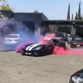 Dodge Viper Burnout