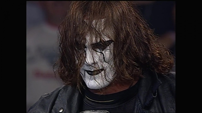Sting sends a message to Eric Bischoff 25 08 97