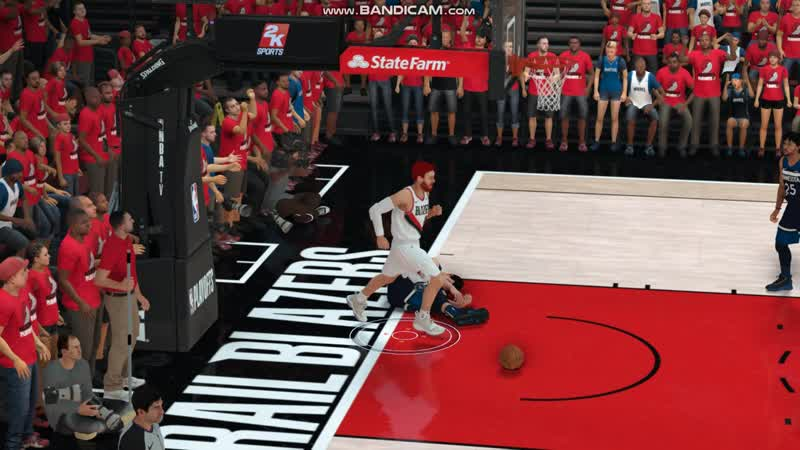 NBA2K19 PlayOff Posterizered Dunk on Saric