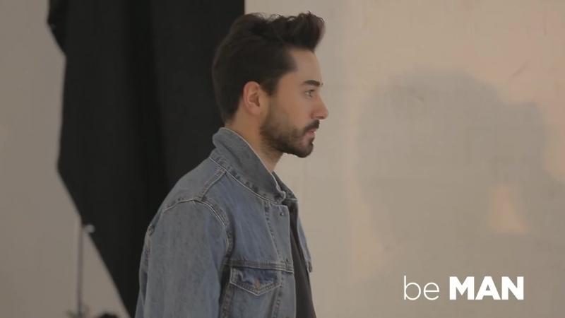Gökhan Alkan BeMAN Magazine Şubat 2018 Backstage