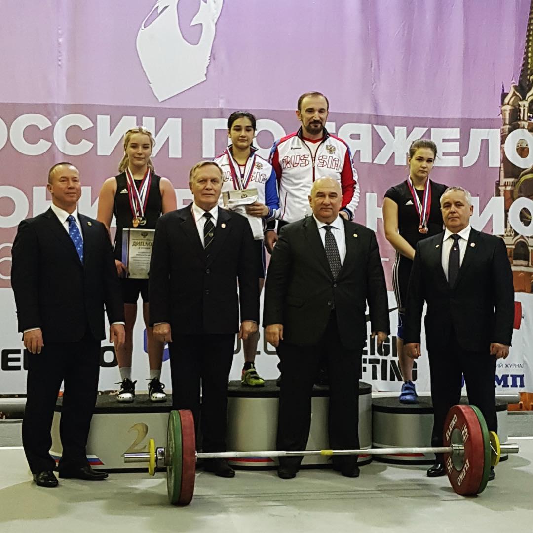 Елена Мельникова из Орехово-Зуева вошла в число призеров первенства России по тяжелой атлетике среди юниоров и юниорок в весовой категории 64 кг.