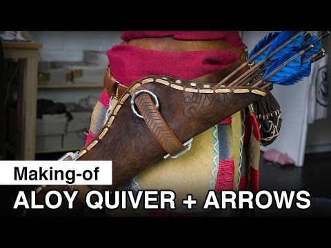Aloy Cosplay - Quiver and Arrows Making-of