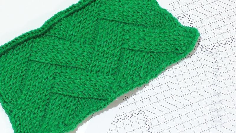 Плетенка Подробный разбор плетеного узора смотреть онлайн без регистрации