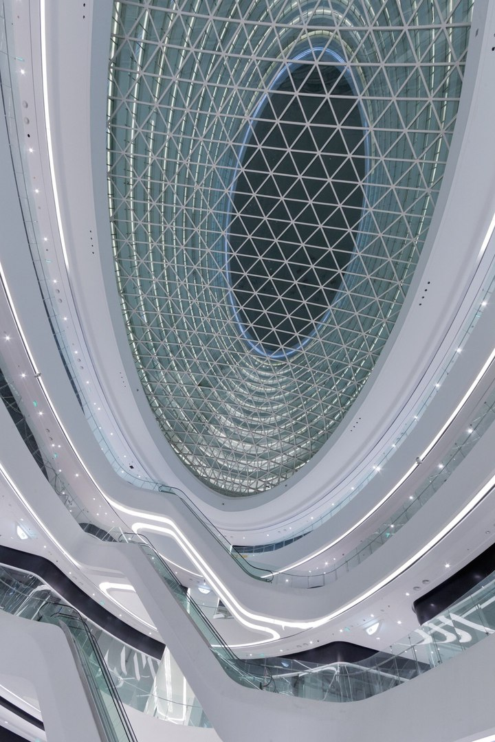 Galaxy Soho by Zaha Hadid