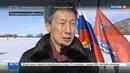 Новости на Россия 24 • Колымский экспресс прошел Якутию и идет в Магадан