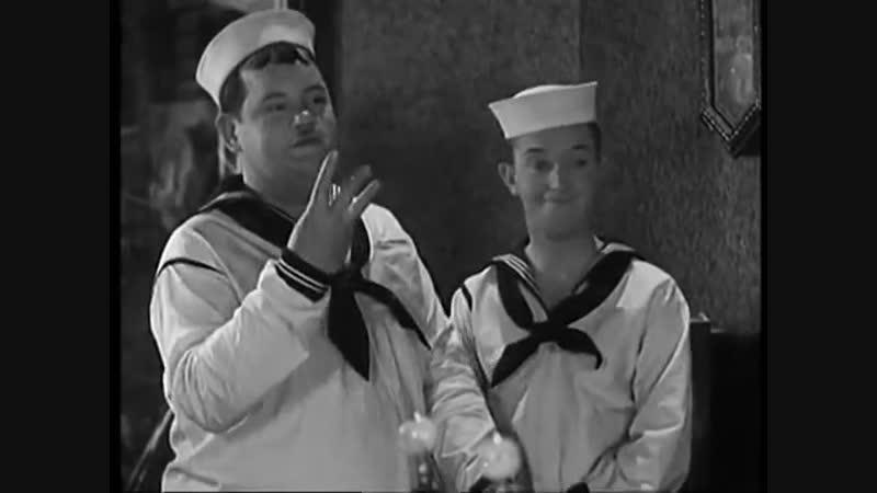 Marinheiro de Água - O Gordo e o Magro - 1929