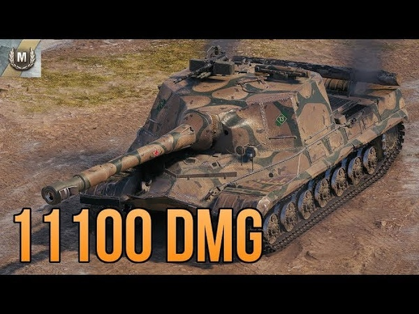 Object 268 • 11k DMG • No Gold Rounds • WoT Tier X Gameplay