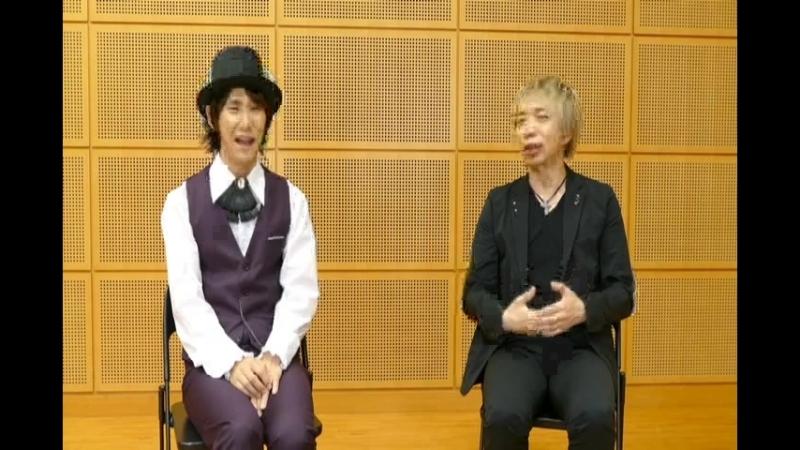 CodeRealize Fantastic Party! (Day Event) Seiyuu Interview (Suwabe Junichi, Hirakawa Daisuke)