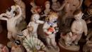 Фарфоровые статуэтки СССР ЛФЗ гжель басни и сказки приятные впечатления наслаждаемся искусством