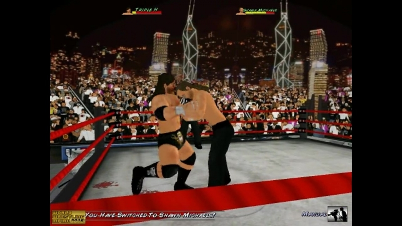 Triple H vs Shawn Michaels 2