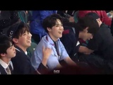 180520 BBMA Jimin Reaction to Kelly Clarksons Music Medley
