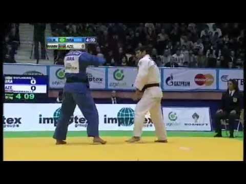 JUDO 2011 World Masters: Elnur Mammadli (AZE) - Leandro Guilheiro (BRA)