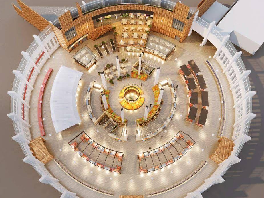 Проект обновленного Центрального рынка показали липчанам — Изображение 2