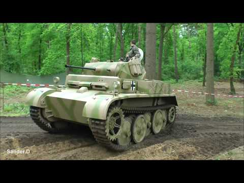 Panzer II Luchs at Militracks 2017