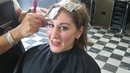 Getting Professional Blonde Foils done at Auburn Hair Salon Hawthorn
