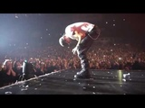 Enrique Iglesias crying after a long standing ovation from his fans in Prague