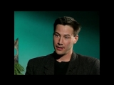 Keanu Reeves. 'Is Hamlet your favourite role'