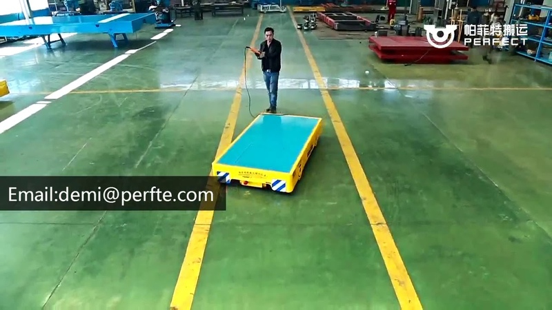 Industry transfer trolley motorized trolley conveyor /transfer platform trolleys