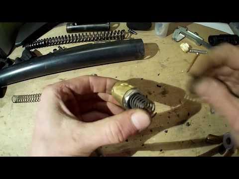переделка иж 61 в PCP часть 2 перепуск,клапан
