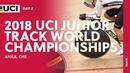 2018 UCI Junior Track World Championships Aigle CHE Day 2