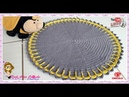 👊 Tapete Bellini fácil e rápido - Pink Artes Croche by Rosana Recchia