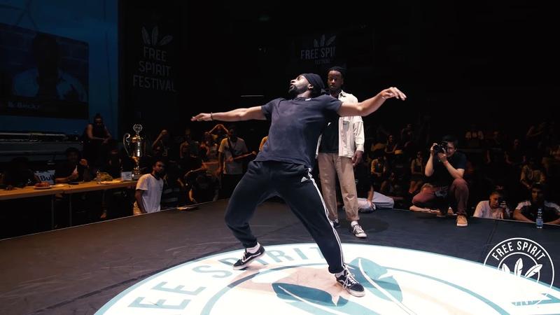 Free Spirit Festival 2018 Championship Hip Hop Semi-Final |Snu Beckz vs. Waydi Rochka | Danceproject.info