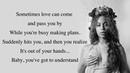 Beyoncé Ave Maria Full HD lyrics