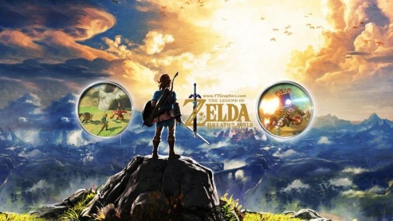 The Legend of Zelda breath of the wild 6 часть