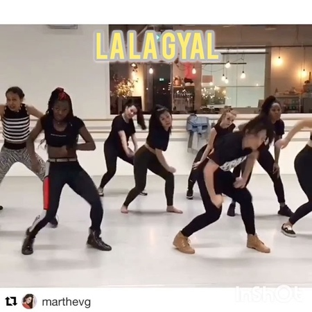"Female Dancehall Official on Instagram: ""Catch this one la la gyal by @ladycunfaya 👠 lalagyal dancehallstep dancehall dancers dance female ..."