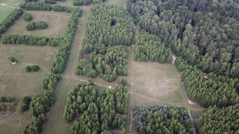 Wagon Landscaping Parc Archstoyanie à Nikola Lenivets