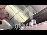Видео из салона самолета S7, аварийно севшего «без закрылок» в Черногории