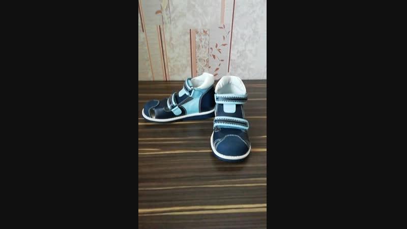 Профилактические сандалии с закрытым носиком. Обзор от Анны Поярковой