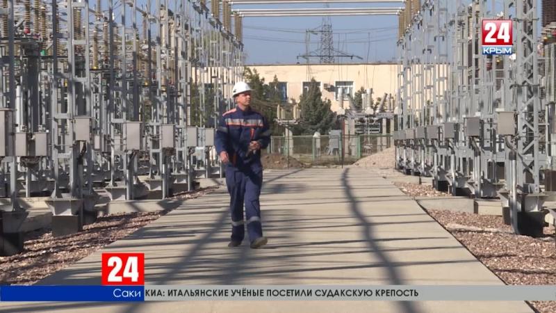 На Сакской ТЭЦ в опытном режиме заработали 4 газотурбинных агрегата. Энергия уже поступает в дома жителей западного Крыма