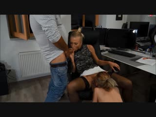 Lia louise - see watching blowjob handjob licking double office sex porn